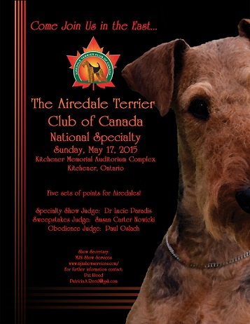 Airedale Terrier Club of Canada National Specialty