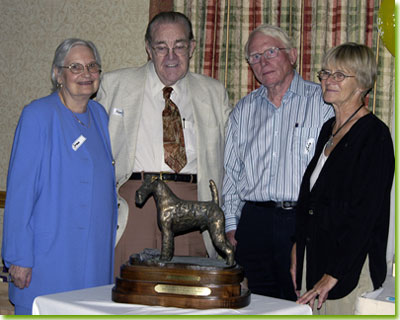 Introduction of the Henk Bennink-Deanridge Trophy, with Irma and Henk Bennink, and John and Ellie Voortman