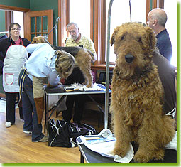ATCC Grooming Seminar 2007 - I really wish it was MY turn...