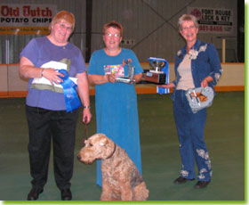 National Specialty 2005 - Obedience Champion