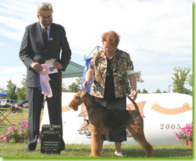 National Specialty 2005 - Reserve Winners Dog